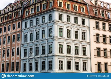 Building Facade Ancient Architecture Europe Stock Photo