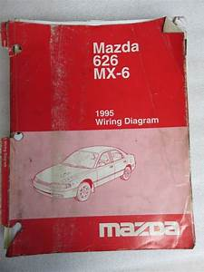198mazda 626 Shop Service Repair Manual Set Oem 8service Manual And The Electrical Wiring Diagrams Manual