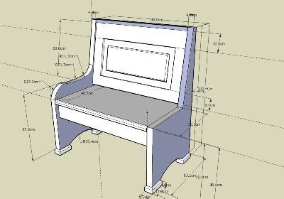 misure panchina come costruire una panca di legno beautiful come