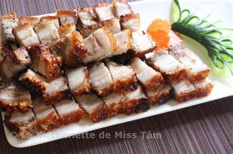 cuisine chinoise poulet croustillant porc laqué croustillant thit heo quay paperblog
