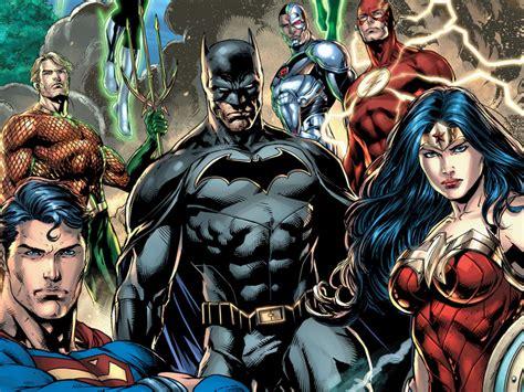 desktop wallpaper justice league dc comics  heroes