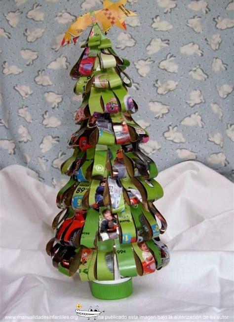 193 rbol de navidad reciclado manualidades infantiles