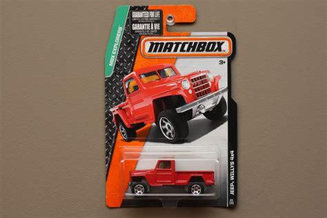matchbox jeep willys 4x4 matchbox 2015 mbx explorers jeep willys 4x4 red