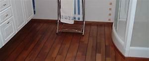 un parquet dans ma salle de bain le parqueteur vendeen With entretien parquet teck salle de bain