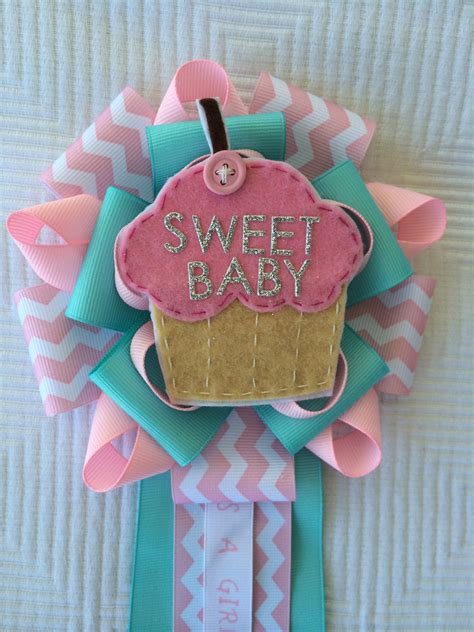 baby shower mums for cupcake baby shower corsage mums sweet baby corsage its a