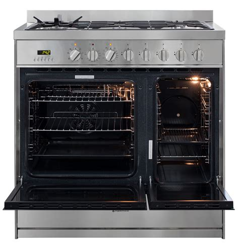 Herd Ofen Kombination by 900mm Combination Freestanding Stove 1 1 2 Ovens