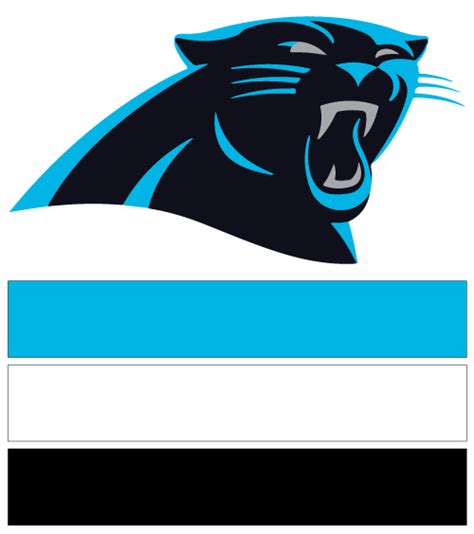 what colors are the carolina panthers carolina panthers football nail ideas designs