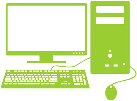 Computer Images Computer Silhouette Free Vector Silhouettes