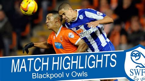 Blackpool vs Sheffield Wednesday - Championship 2013/14 ...