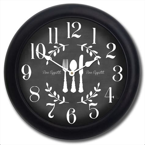 large kitchen wall clock french cafe wall clock