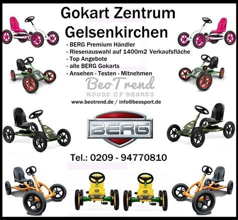 BeoGokart   berg buddy gokart orange