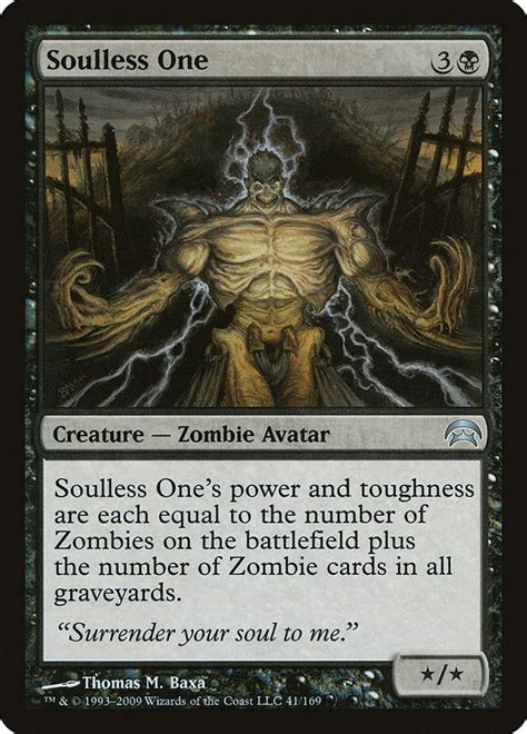 mtg zombie supports soulless gathering magic