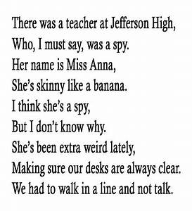 """There Was a Teacher at Jefferson High"" by Krisheena ..."