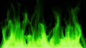 Green toxic fire burning Motion Background - Storyblocks Video