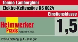 Elektro Kettensäge Test : tonino lamborghini ks 6024 elektro kettens ge vorgestellt ~ Buech-reservation.com Haus und Dekorationen