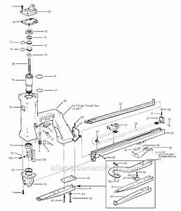 Bostitch P50 Parts List And Diagram   Ereplacementparts Com