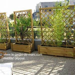 Jardinière Avec Treillage : nos realisations ~ Melissatoandfro.com Idées de Décoration