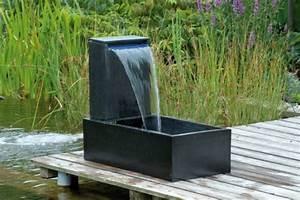 Wasserspiel Für Terrasse : steinbrunnen f r balkon terrasse und garten ~ Michelbontemps.com Haus und Dekorationen