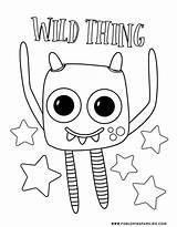 Monster Coloring Monsters Silly Printables Scary Smile Silliness Hopefully Spooky Nothing Bring sketch template