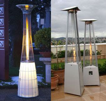 different kinds of outdoor patio heaters green organic