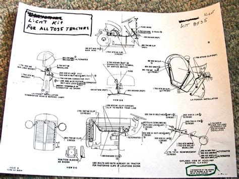 Mf 175 Wiring Diagram by Mey Ferguson 165 Parts Diagram Wiring Forums