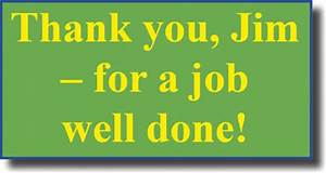 Thank you, Jim - for a job well done! - Psychic News™
