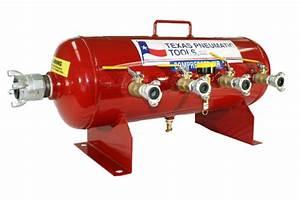 Tx-6amf - Air Manifold  10 Gal  Asme Tank