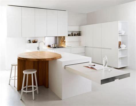 minimalistic kitchen minimalist white kitchen with breakfast nook slim by elmar
