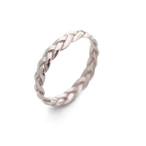 Braided White Gold Ring Gold Rings Gold Braided Ring Simple. Goku Wedding Rings. Magical Wedding Engagement Rings. Baby's Rings. Fairy Tail Engagement Rings. Yr Anniversary Wedding Rings. Audrey Wedding Rings. Square Cut Diamond Engagement Rings. Thin Band Wedding Rings