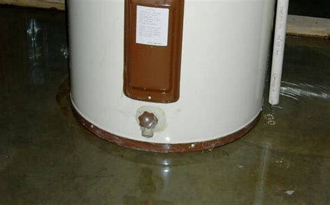 Hot Water Heater Leaking Top 5 Causes & Solutions