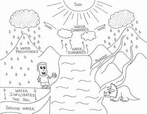 Diagram  Water Cycle Diagram Worksheet For Kids