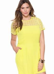 Plus size romper dress - PlusLook.eu Collection