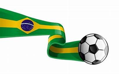 Soccer Flag Clipart Brazilian Transparent Ball Brazil