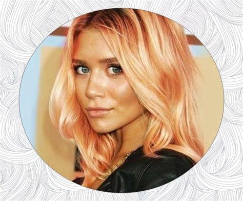Best 25+ Peach Hair Colors Ideas On Pinterest