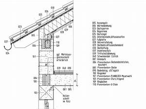 Manntage Berechnen : anschluss mauerwerk geneigtes dach mauerwerk dach baunetz wissen ~ Themetempest.com Abrechnung