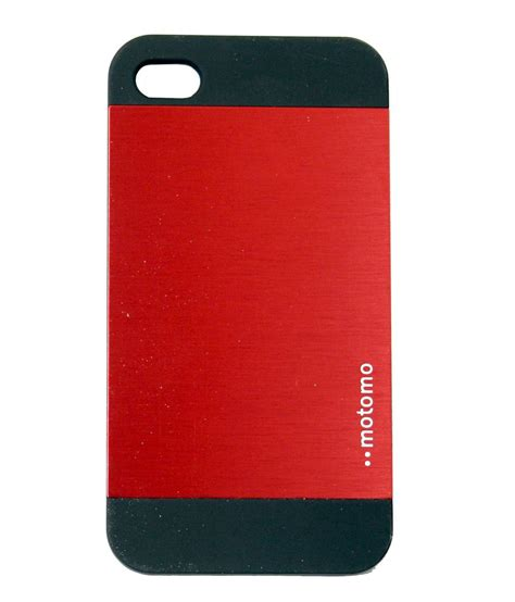 motomo ino metal for apple iphone 4 4s plain back covers at low prices