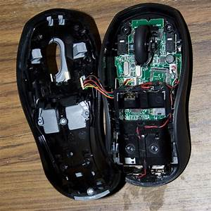 Inside the Logitech LX310 Cordless Laser Mouse + Keyboard ...