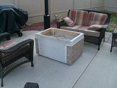 how to build a propane pit table how to build a gas or propane outdoor pit