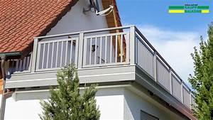 Balkongeländer Pulverbeschichtet Anthrazit : alubalkon balkongel nder aus aluminium nie wieder ~ Michelbontemps.com Haus und Dekorationen