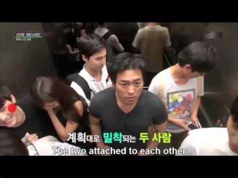 eng  bangtan boys elevator hidden camera prank