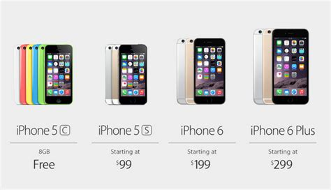 iphone prices iphone 6 release date september 19th prices start at 199