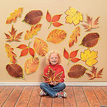 jumbo fall leaves cutouts
