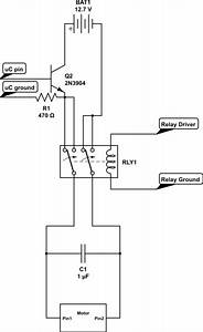 Motor Control Using Relay Circuit Diagram