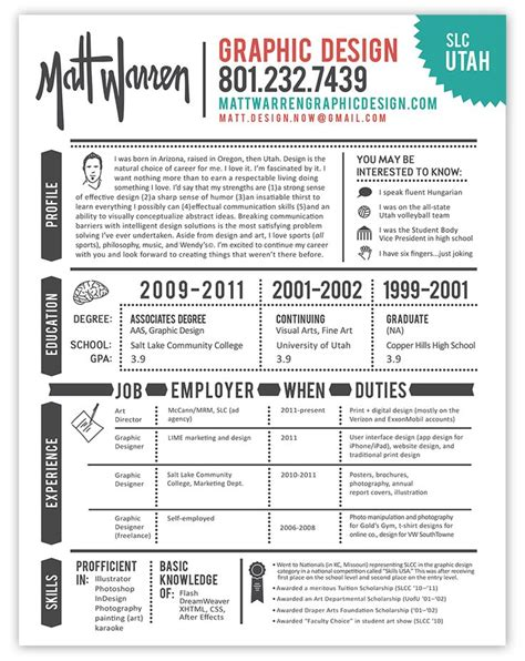 best 25 graphic designer resume ideas on