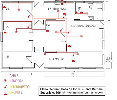 planos electricos de casas