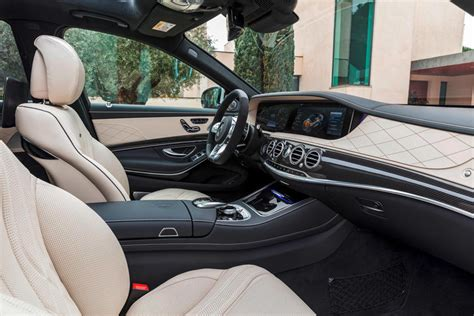 Interior is futuristic and the handling and safety future of this car is one of the best you can get on this price range. 2020 Mercedes-AMG S63 Sedan: Review, Trims, Specs, Price ...