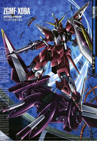 Gundam Seed Justice Mobile Suit Mechanic Wallpapers