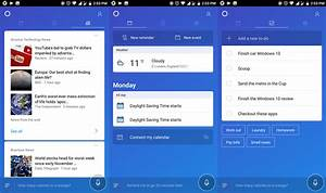 Cortana for Android gets improved feed design, and more ...