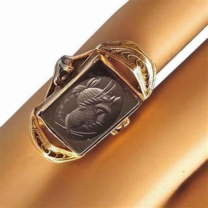 Intaglio Ring Antique 10k Shops