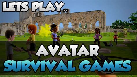 lets play avatar survival games funny xbox  hunger